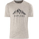 Bergans Explore Wool t-shirt Heren grijs